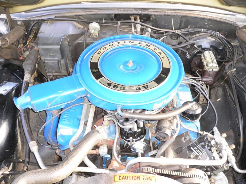 1969 Continental Mark III 460 V8