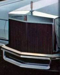1972 Continental Mark IV - front bumper guard - optional