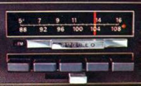 1972 Continental Mark IV - AM/FM Stereo radio - optional