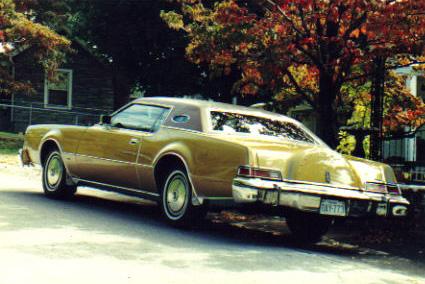 1974 Continental Mark IV