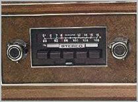 1974 AM/FM/Multiplex Stereo Radio - standard
