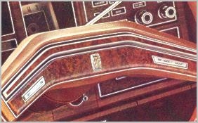 1975 Continental Mark IV - new steering wheel design - standard