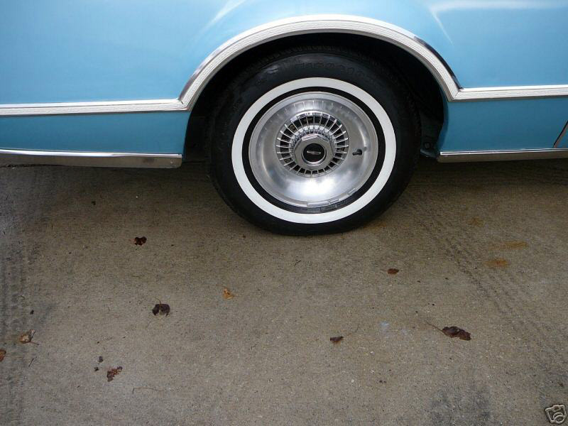 1976 Continental Mark IV Givenchy - forged aluminum wheels
