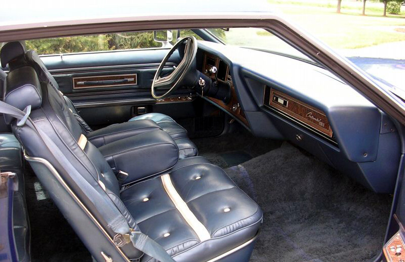 1976 Continental Mark IV Bill Blass leather interior