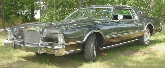 1976 Continental Mark IV Diamond Black Luxury Group