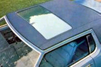 1976 Continental Mark IV - power glass moonroof - optional