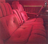 1976 Continental Mark IV - Versailles velour cloth interior - optional