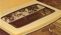 1977 Continental Mark V moonroof - optional