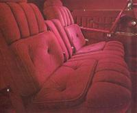 1977 Continenal Mark V Majestic velour interior - optional