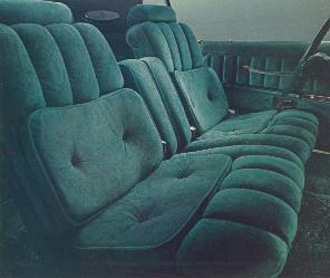 1977 Continental Mark V Givenchy Majestic Velour interior