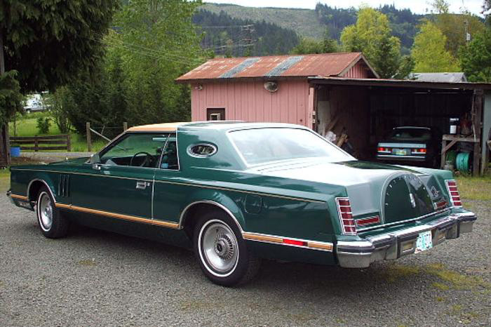 1977 Continental Mark V Givenchy
