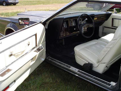 1977 Continental Mark V Pucci interior
