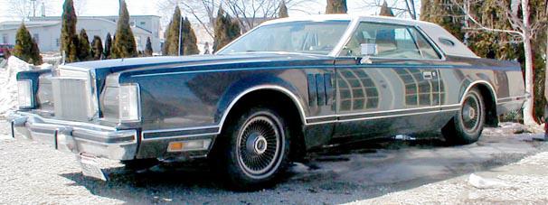 1977 Continental Mark V Pucci
