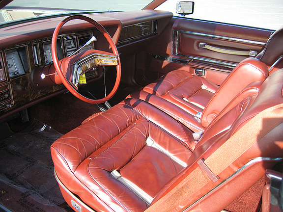 1978 Continental Mark V Bill Blass w/leather interior luxury group sew style