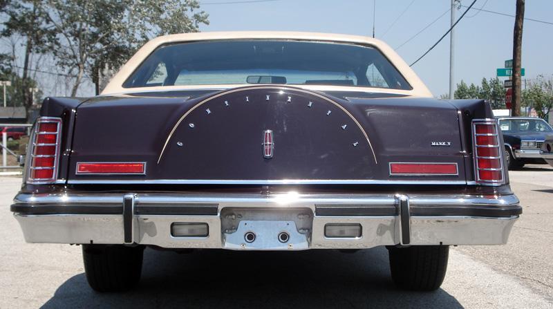 1978 Continental Mark V Bill Blass