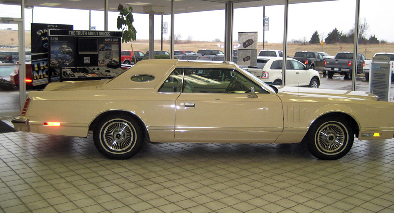 1978 Continental Mark V Cartier