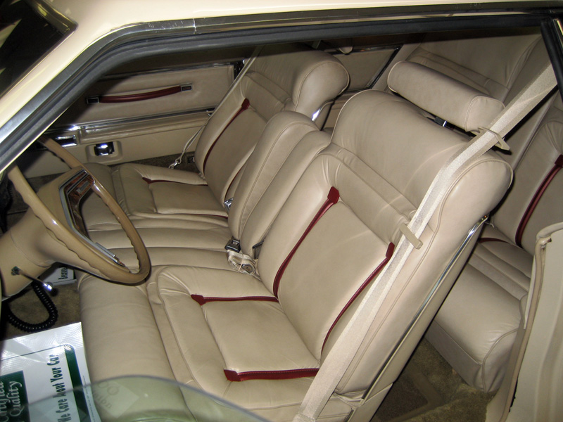 1978 Continental Mark V Cartier w/leather interior