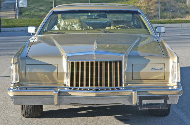 1978 Continental Mark V Diamond Jubilee Edition in w/Jubilee Gold grille bars