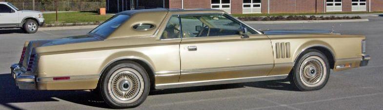 1978 Continental Mark V Diamond Jubilee Edition in Jubilee Gold