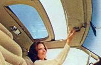1978 Continental Mark V power moonroof - optional