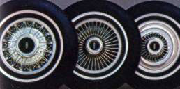 1978 Continental Mark V option wheel covers