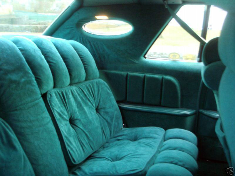 1977 Continental Mark V Givenchy w/Majestic Velour interior