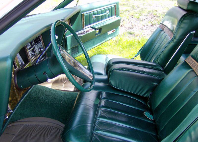 1978 Continental Mark V Givenchy w/leather interior