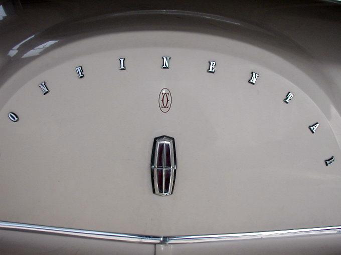 1979 Continental Mark V Cartier monogram on decklid