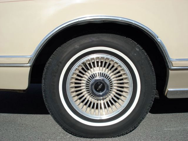 1979 Continental Mark V Cartier color keyed turbine styled wheels