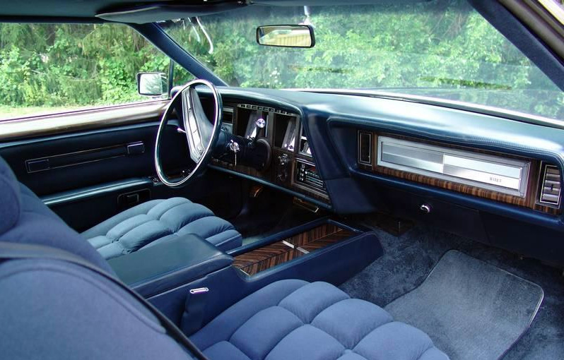 1979 Continental Mark V Collector's Series Interior