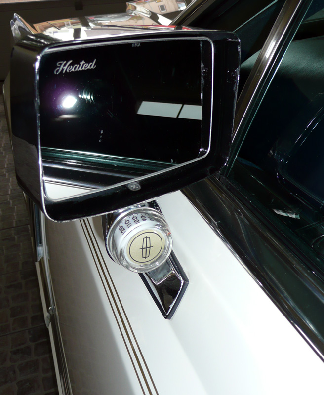 1979 Continental Mark V Collector's Series illuminated outside Thermometer