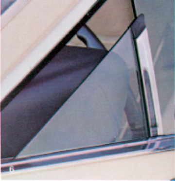 1979 Continental Mark V power vent window option