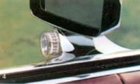 1979 Continental Mark V illuminated outside thermometer option
