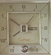 1978 Continental Mark V Cartier clock - standard