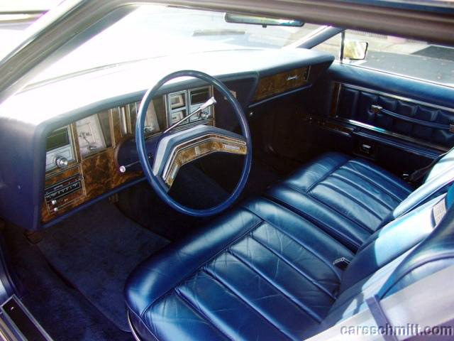 1979 Continental Mark V Givenchy interior