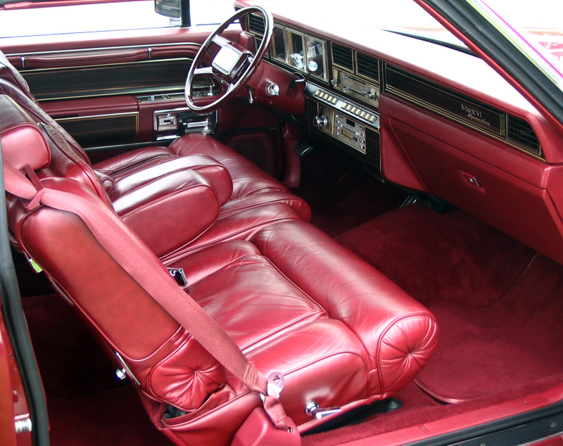 1980 Continental Mark VI Signature Series w/rare leather interior
