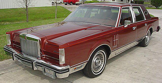 1980 Continental Mark VI Sedan