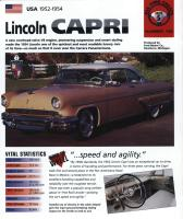 1952-54 Lincoln Capri - IMP Brochure