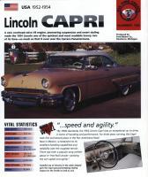 1952-54 Lincoln Capri - IMP Brochure