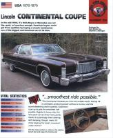 1970-79 Continental Coupé - iMP Brochure