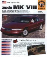 1993-98 Lincoln Mark VIII  - IMP Brochure