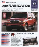 1998 Lincoln Navigator - IMP Brochure