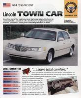 1998 Lincoln Town Car  - IMP Brochure