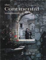 The Continental Magazine 1963 Volume 3 - Nr. 1
