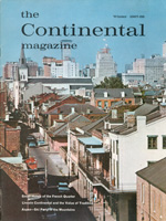 The Continental Magazine 1968 Volume 8 - Nr. 1 Winter 1967/68