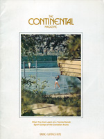 The Continental Magazine 1972 Volume 12 - Nr. 2 Spring/Summer