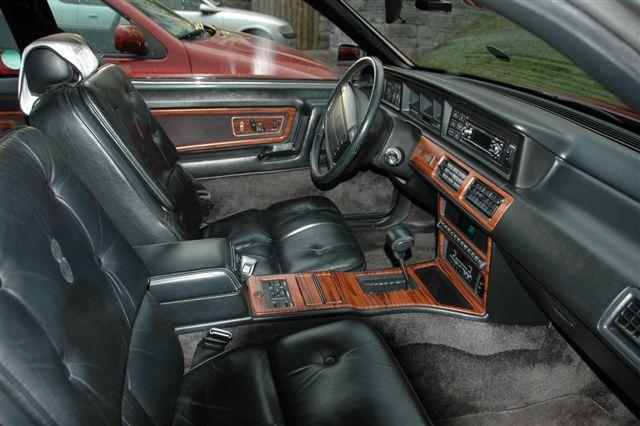 1990 Lincoln Mark VII Bill Blass interior