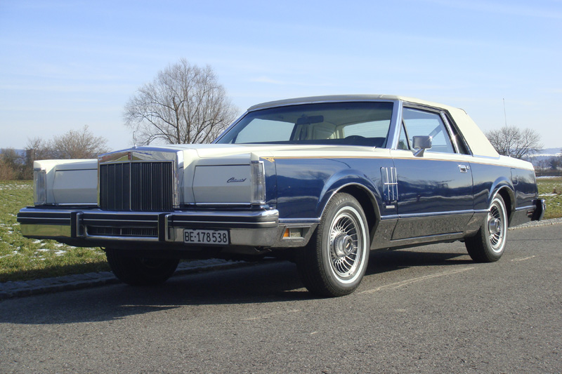 1980 Continental Mark VI Bill Blass Designer Series