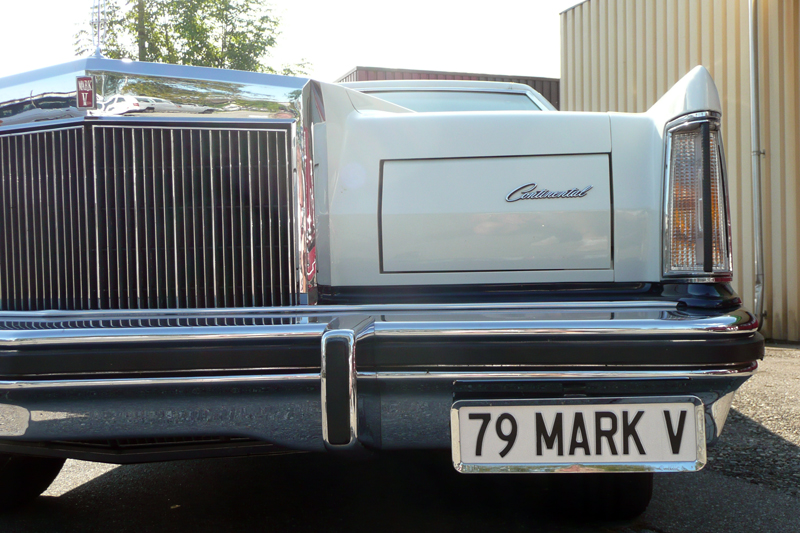 1979 Continental Mark V Bill Blass