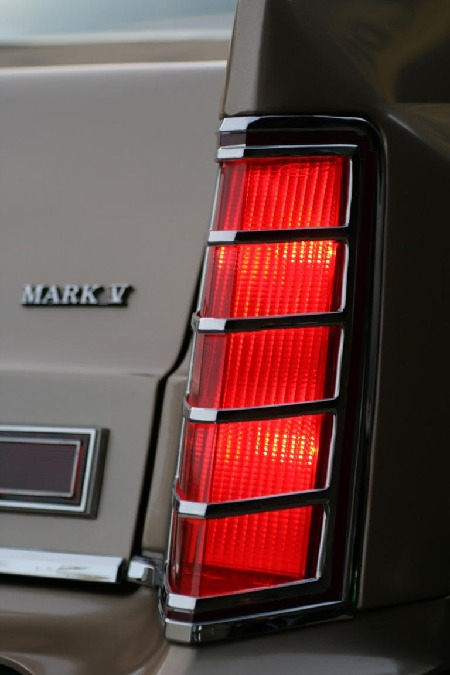 1977-1979 Lincoln Continental Mark V taillight (Foto: Hanns Meier)